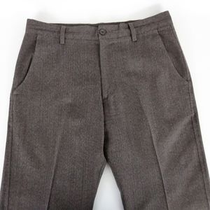 Banana Republic 34x28 Wool Pants Straight Brown